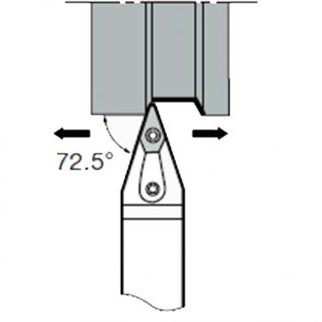 MVVN-N-2020-K16 - Portainserto torneado exterior