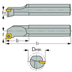 S25T-SCLC-L-09T3 - Portainserto torneado interior