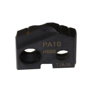 Inserto de barrenado serie PA grado HSS8 TiAlN