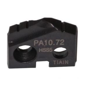 Inserto de barrenado serie PA grado HSS5 TiAlN