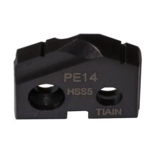 Inserto de barrenado serie PE grado HSS5 TiAlN