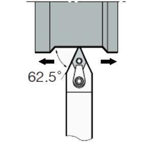 MDPN-N-2525-M15 - Portainserto torneado exterior