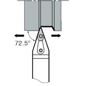 MVVN-N-2525-M16 - Portainserto torneado exterior