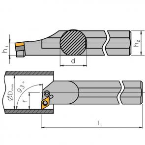 S25T-PDUN-L-11 - Portainserto torneado interior
