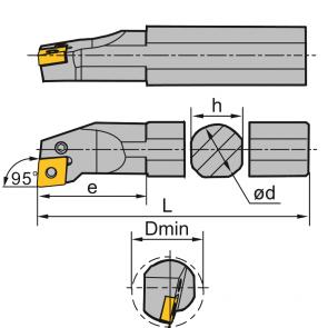 S20Q-PCLN-L-09 - Portainserto torneado interior