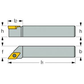 Dimensiones Porta Inserto Exterior SDJC-R 1616 H11