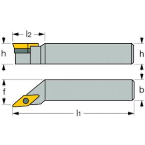 SVJC-R-2020-K16 - Portainserto torneado exterior