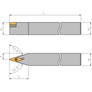 Dimensiones SVVC-N-2525-M16