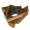 Inserto roscado perfil parcial 60° interior derecho 16-IR-AG60 grado MXC - para aluminio, acero inoxidable y materiales no férreos