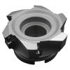 "Corona portainsertos XMR01-3.00""-A1.00""-SD12-07C para maquinado de alta velocidad, Ø de piloto 1.00"" Ø de corte 3.00""  para 7 insertos"